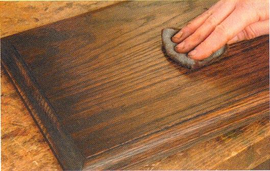 Лессирование древесины своими руками