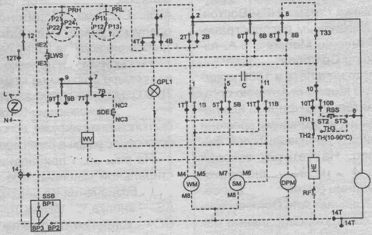 Вот схема от Ardo TL-600
